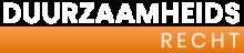 Duurzaamheids Recht Logo White
